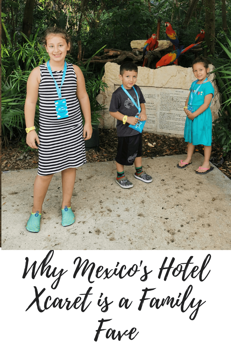 Why Mexico's Hotel Xcaret is a Family Fave
