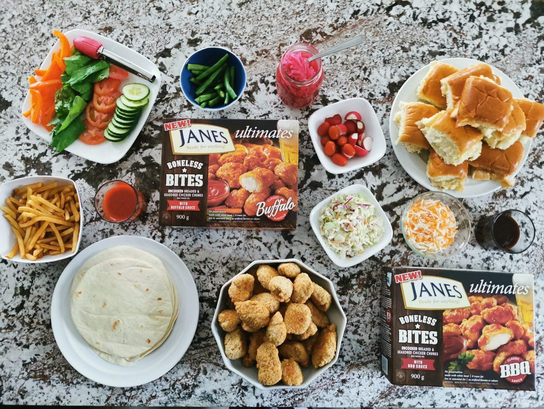 Fast and Easy Dinner Ideas Using Janes ultimates Boneless Bites