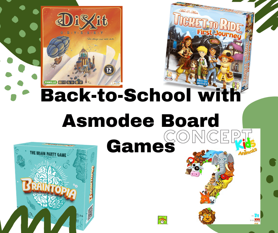 Back-to-School Board Games + a Giveaway