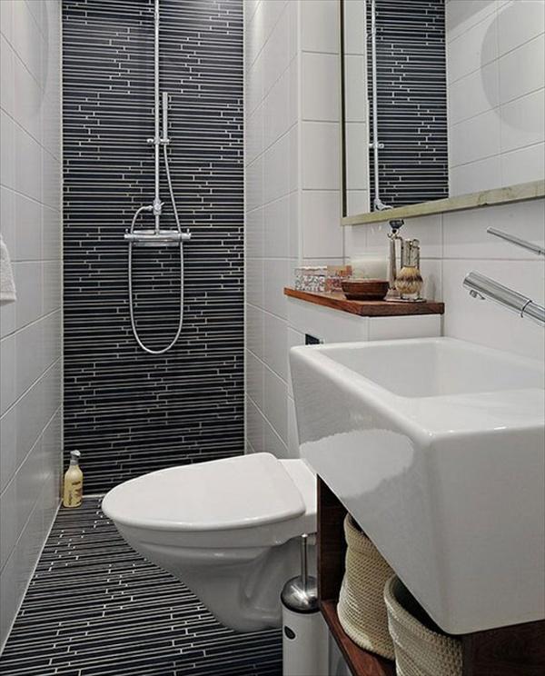 15 Modern and Small Bathroom Design Ideas | Home with Design on Small Bathroom Ideas With Shower Only id=22630