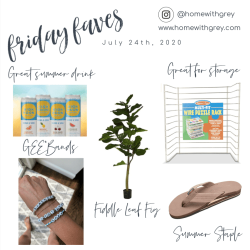 Friday Faves – July 24th, 2020