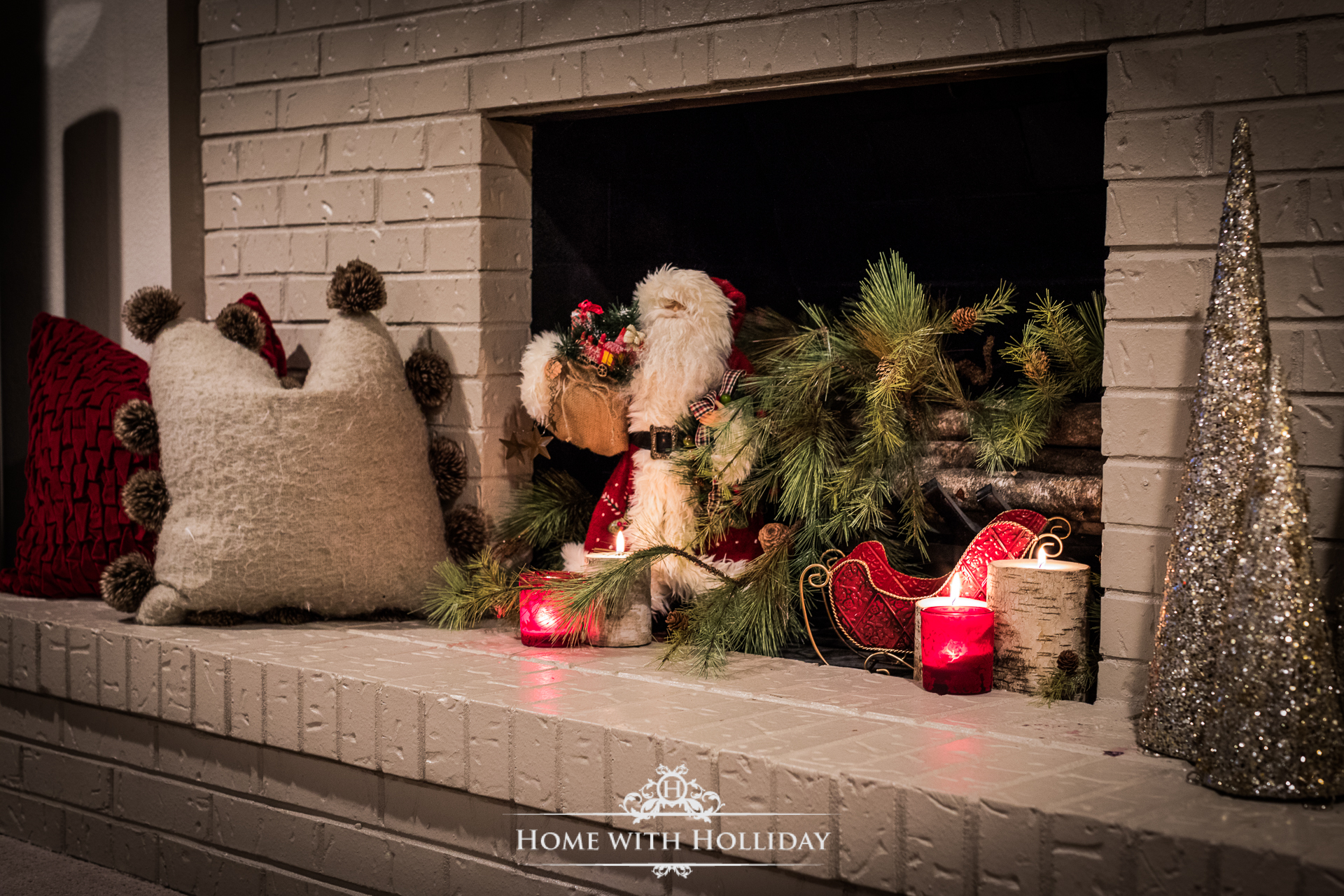Christmas Home Tour - Basement - Home with Holliday