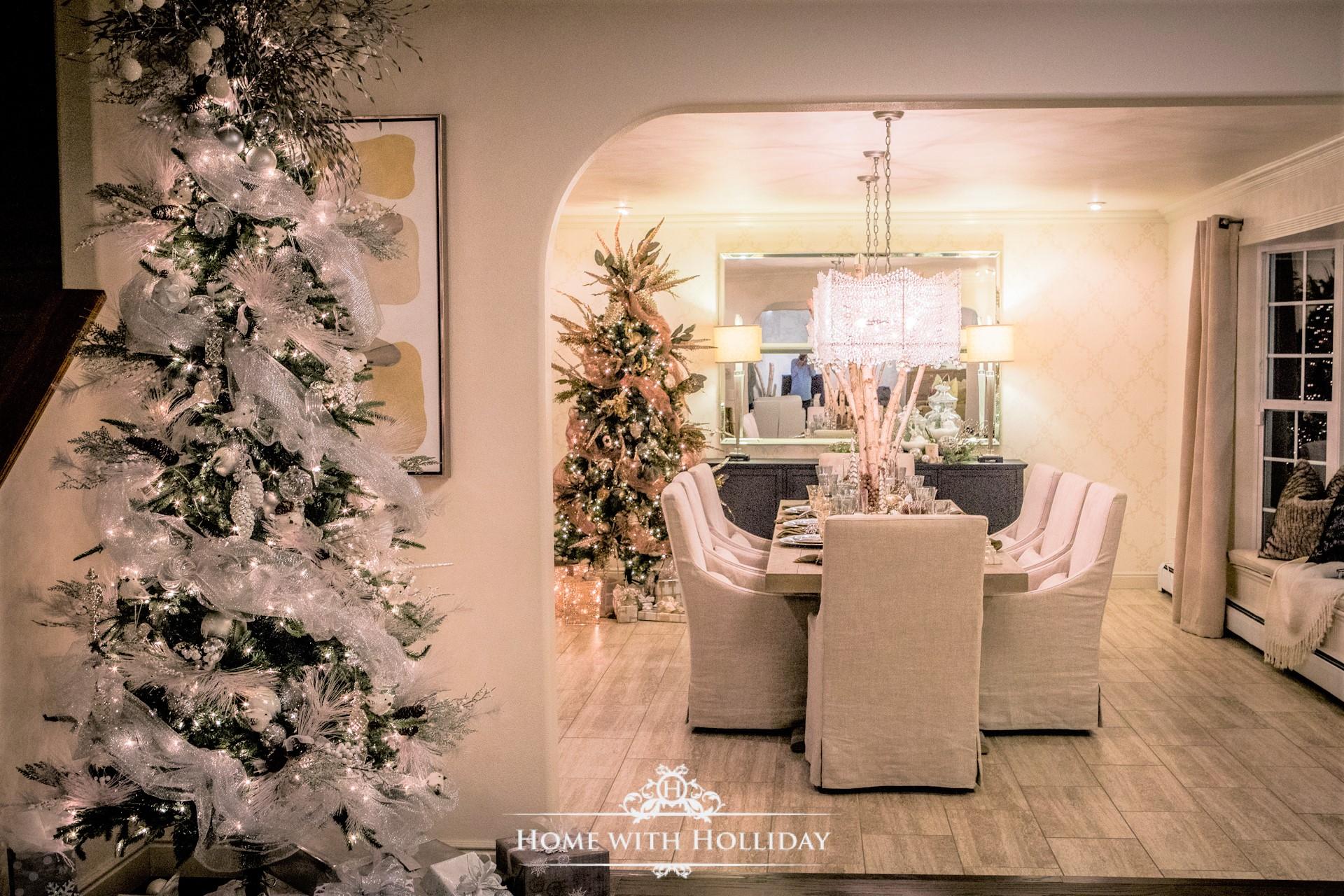 Christmas Home Tour - Christmas Trees - Home with Holliday