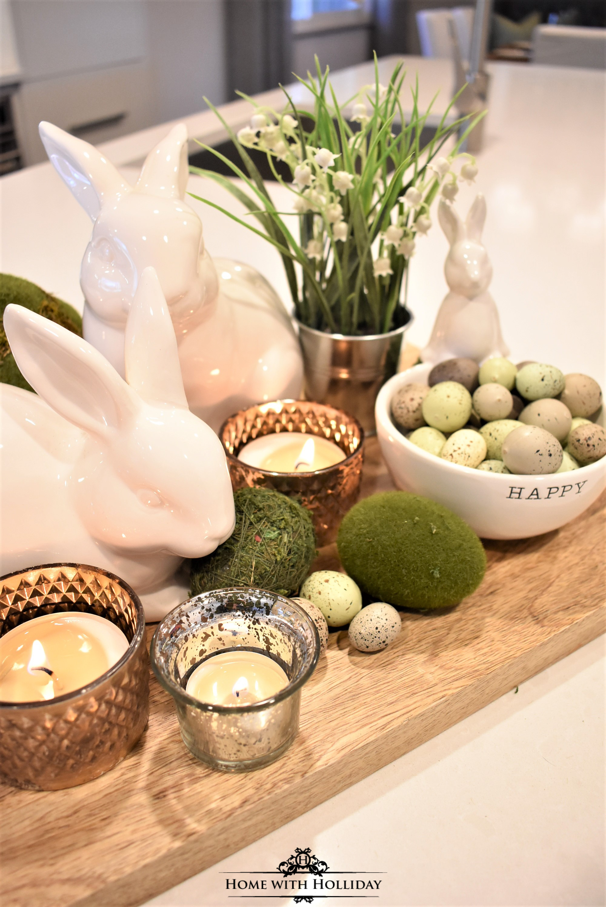 Top Ten Posts of 2019 - Easter Home Tour - Home with Holliday