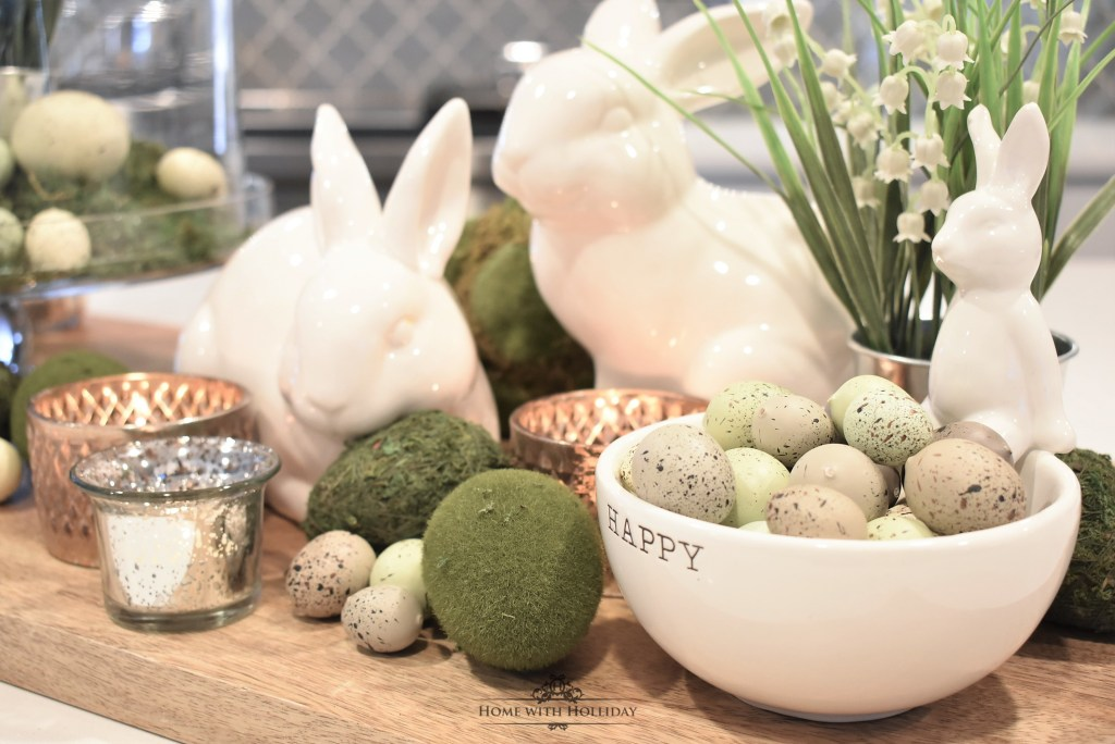 Simple Spring or Easter Décor - Home with Holliday