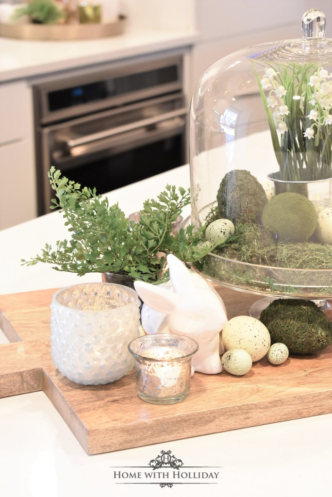 A Spring Vignette Refresh - Before - Home with Holliday