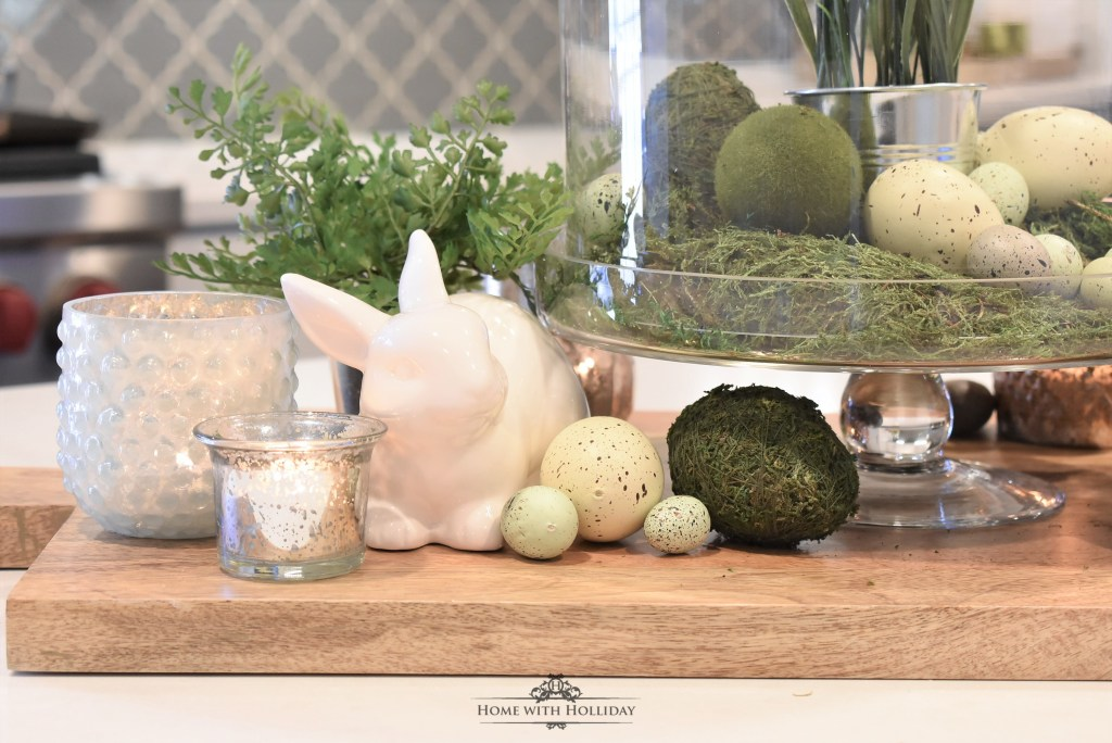 Creating Simple Spring or Easter Décor - Home with Holliday