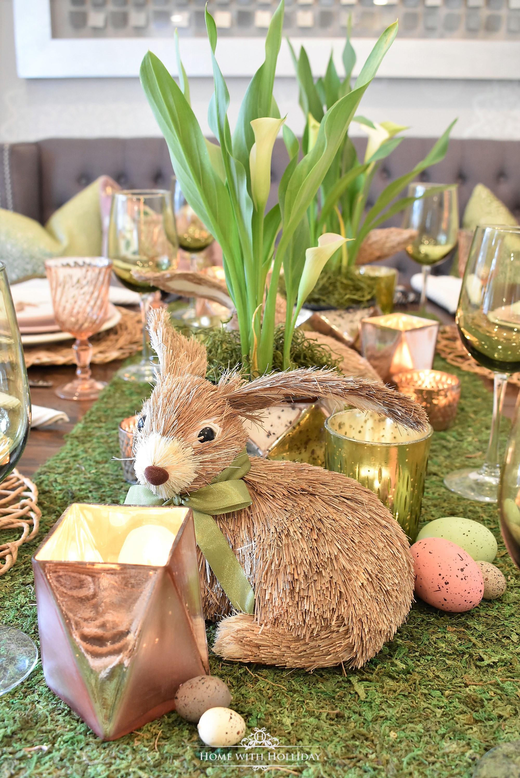 Easter Home Tour - Home with Holliday