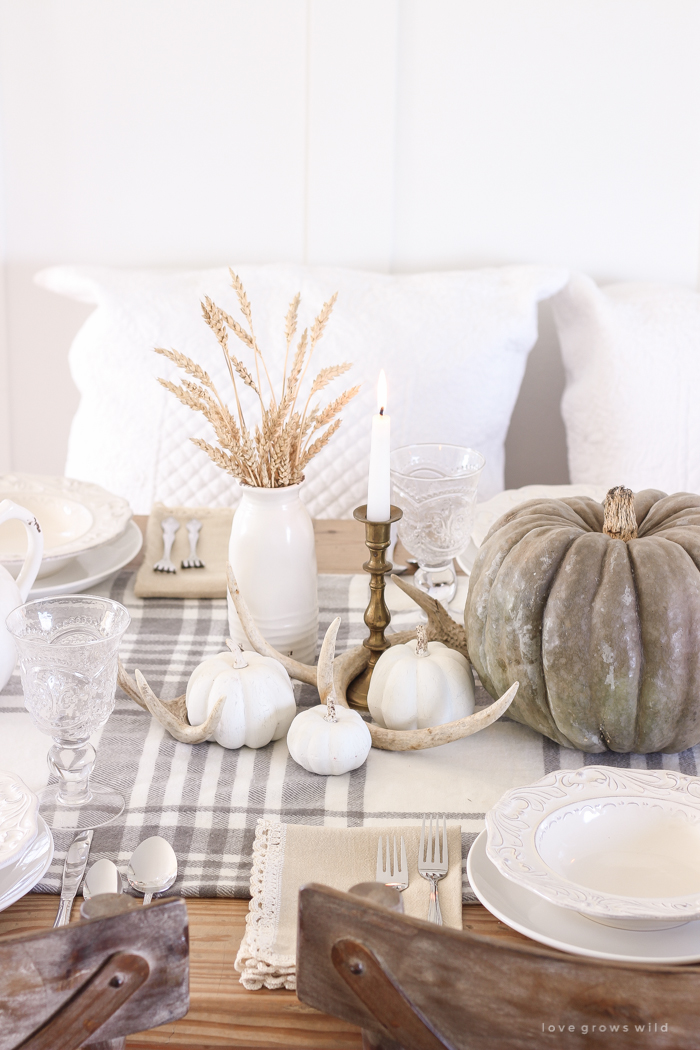Creative Ideas for Fall or Thanksgiving Table Settings and Home Decor 27