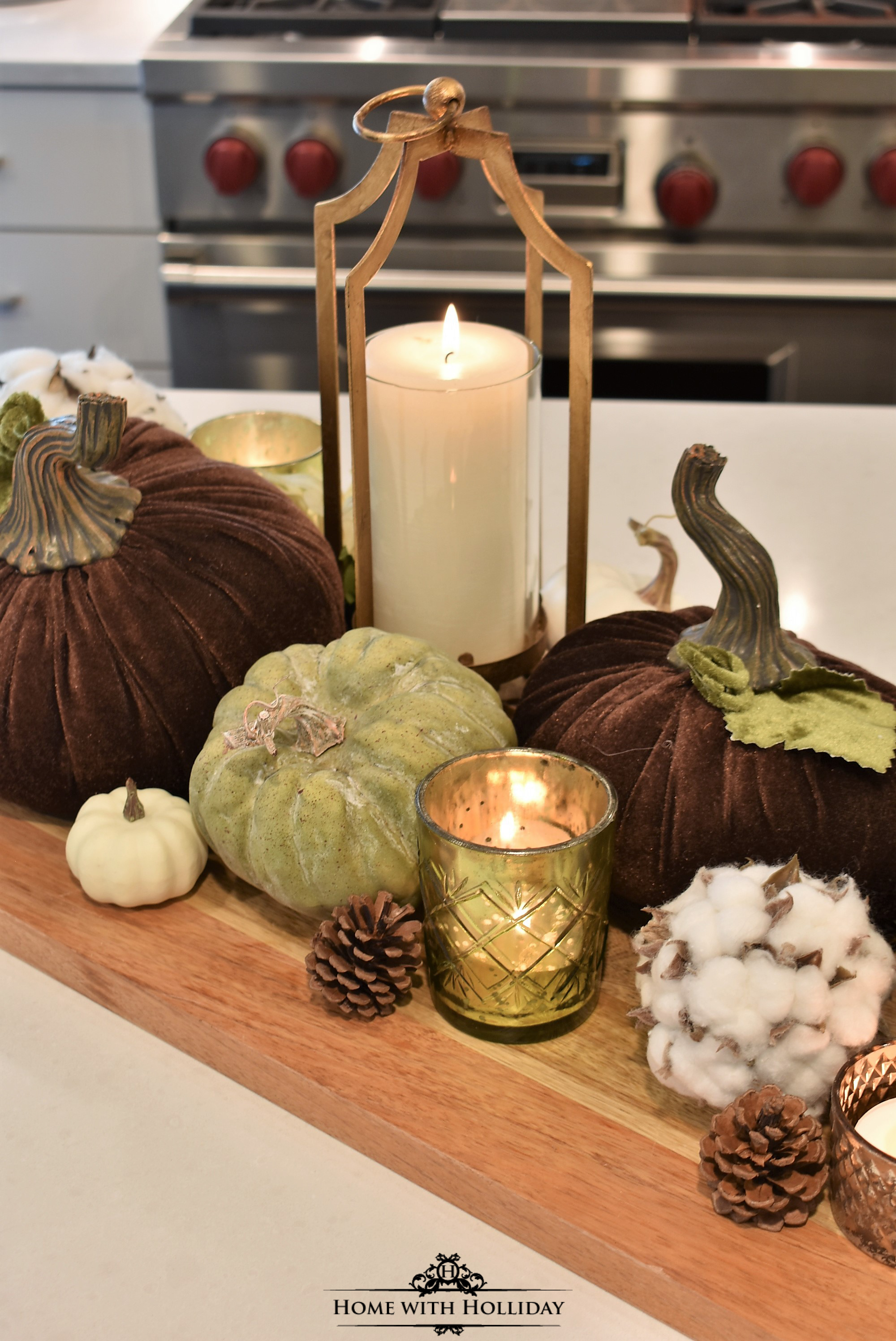 Fall Home Tour with Warm Neutral Tones - Kitchen - Home with Holliday