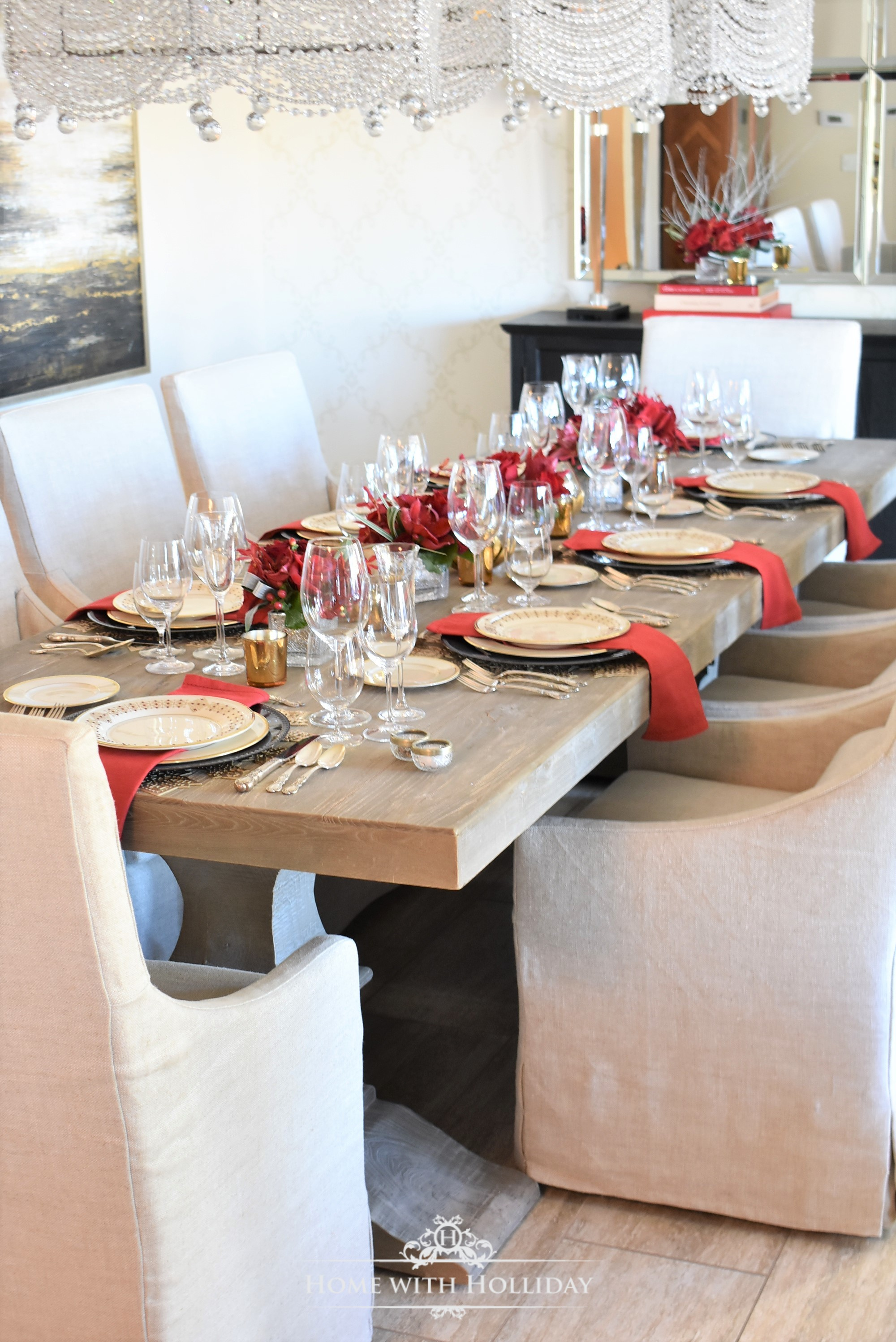 Romantic Valentine's Day Home Decor Ideas - Home with Holliday