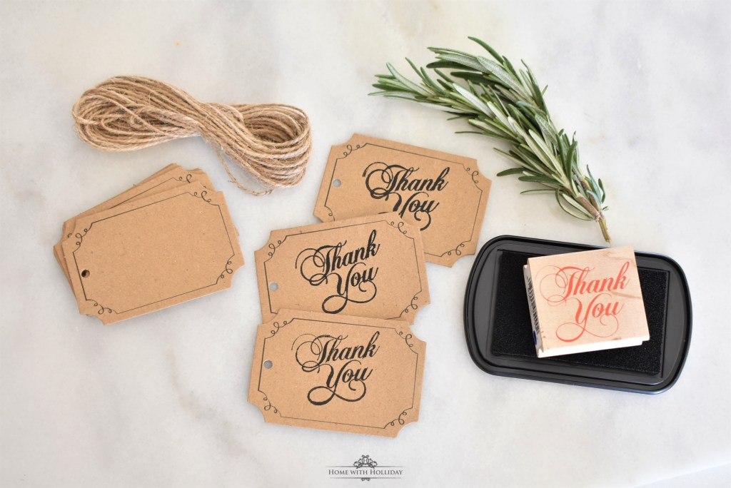 Tags for my Homemade House Seasoning Gifts - Home with Holliday