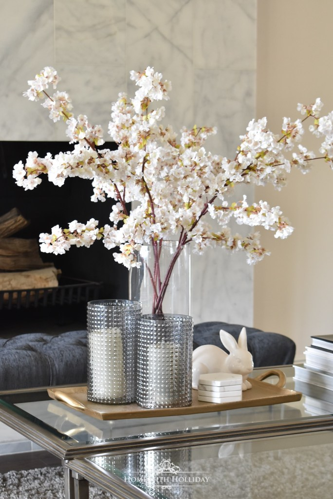 Fresh Spring Home Tour - Living Room - Home with Holliday