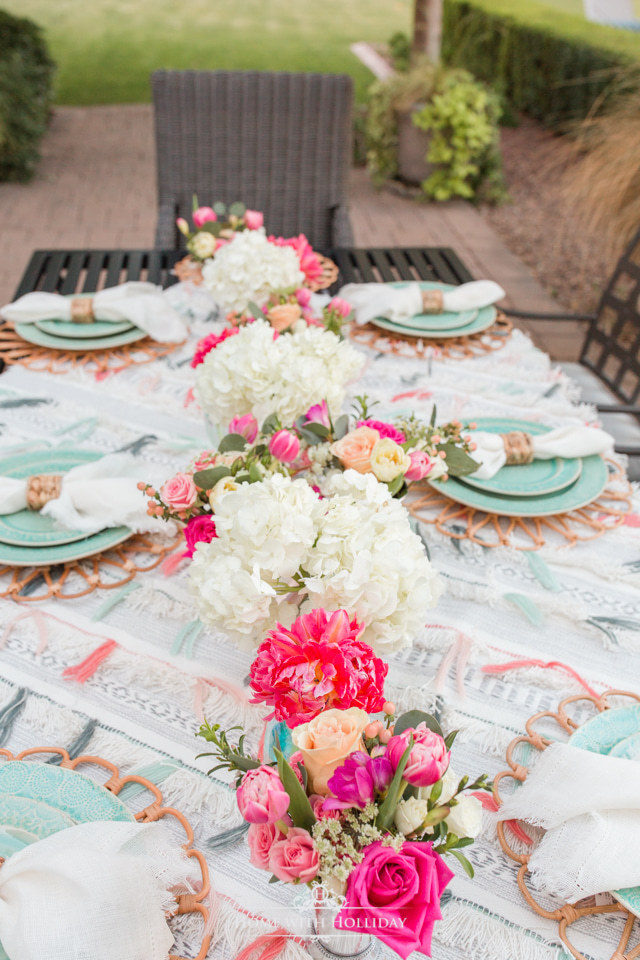 Backyard Party Ideas - Anthropologie-Inspired Dinner Party - Home with Holliday