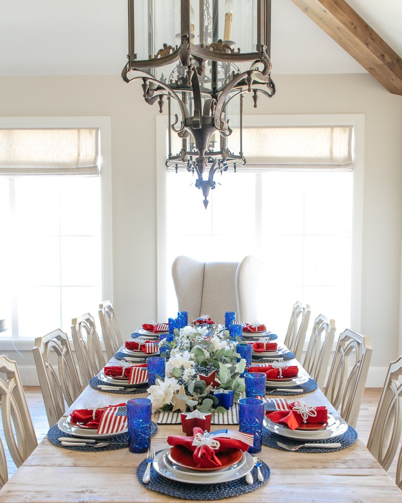 Patriotic Parties - Holiday Hosting at Home Blog Hop #8