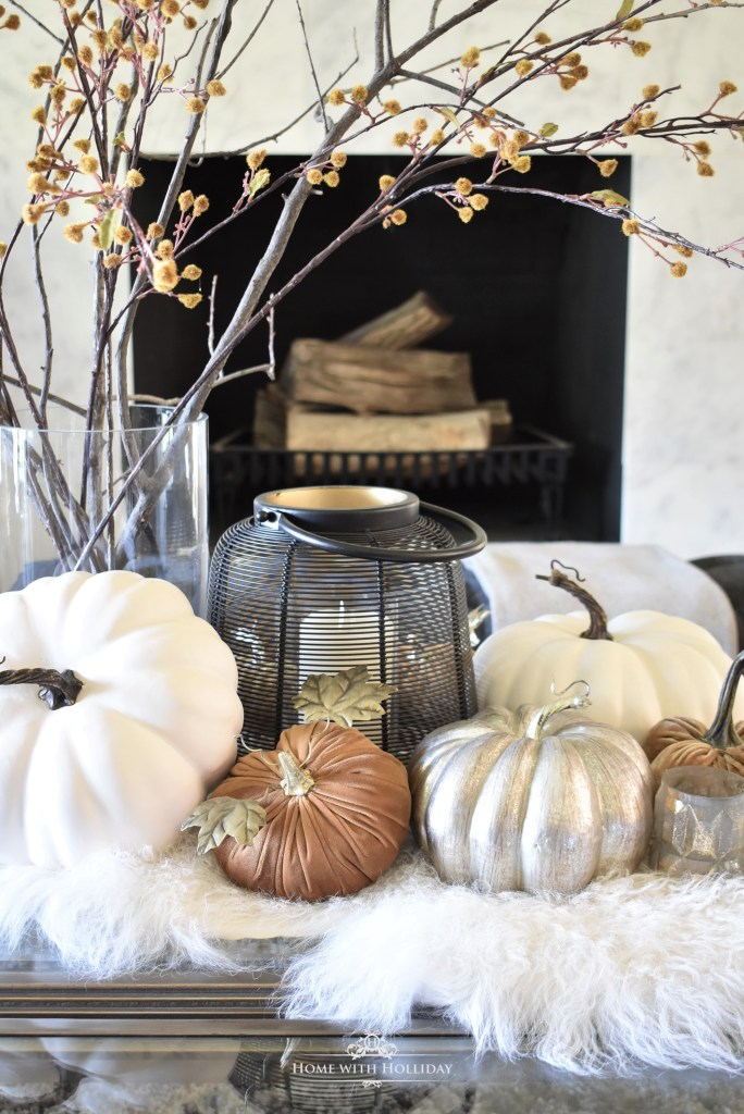 My Warm and Cozy Fall Coffee Table Styling
