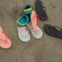 Random Shoes on the Beach