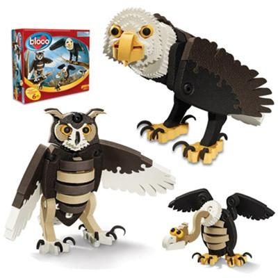 Bloco Birds of Prey Construction Set