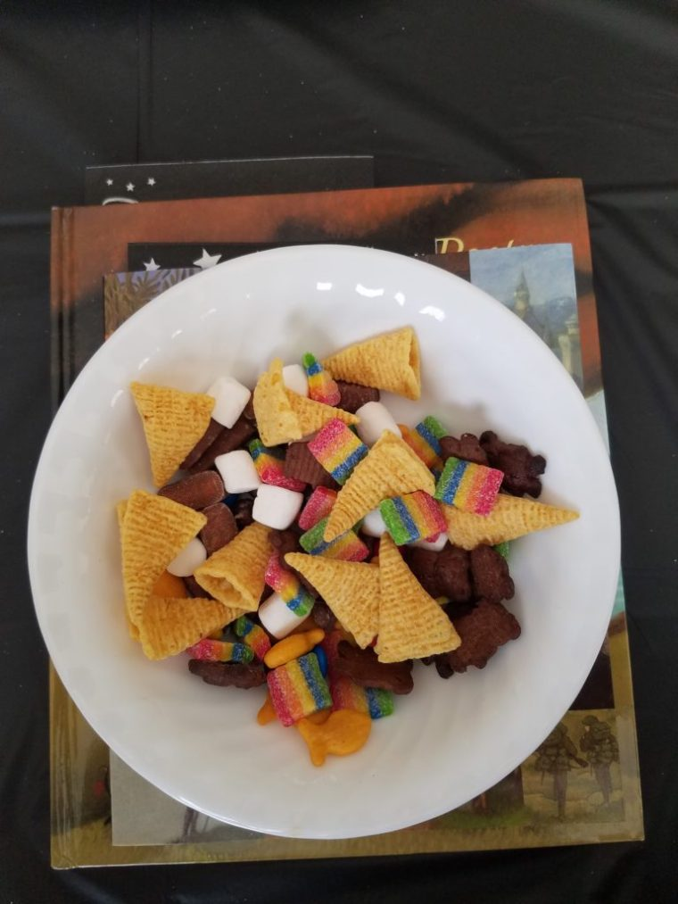 Tea Time Tuesday 100th Day Trail Mix
