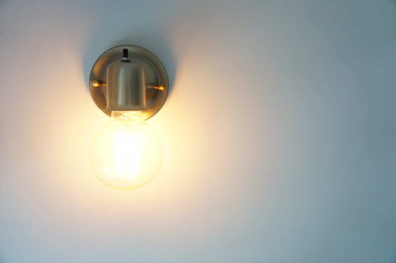 Easy peasy affordable wall sconce   HomeWork Design Co.