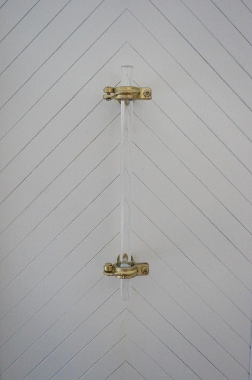 DIY Lucite Hardware - HomeWork Design Co.