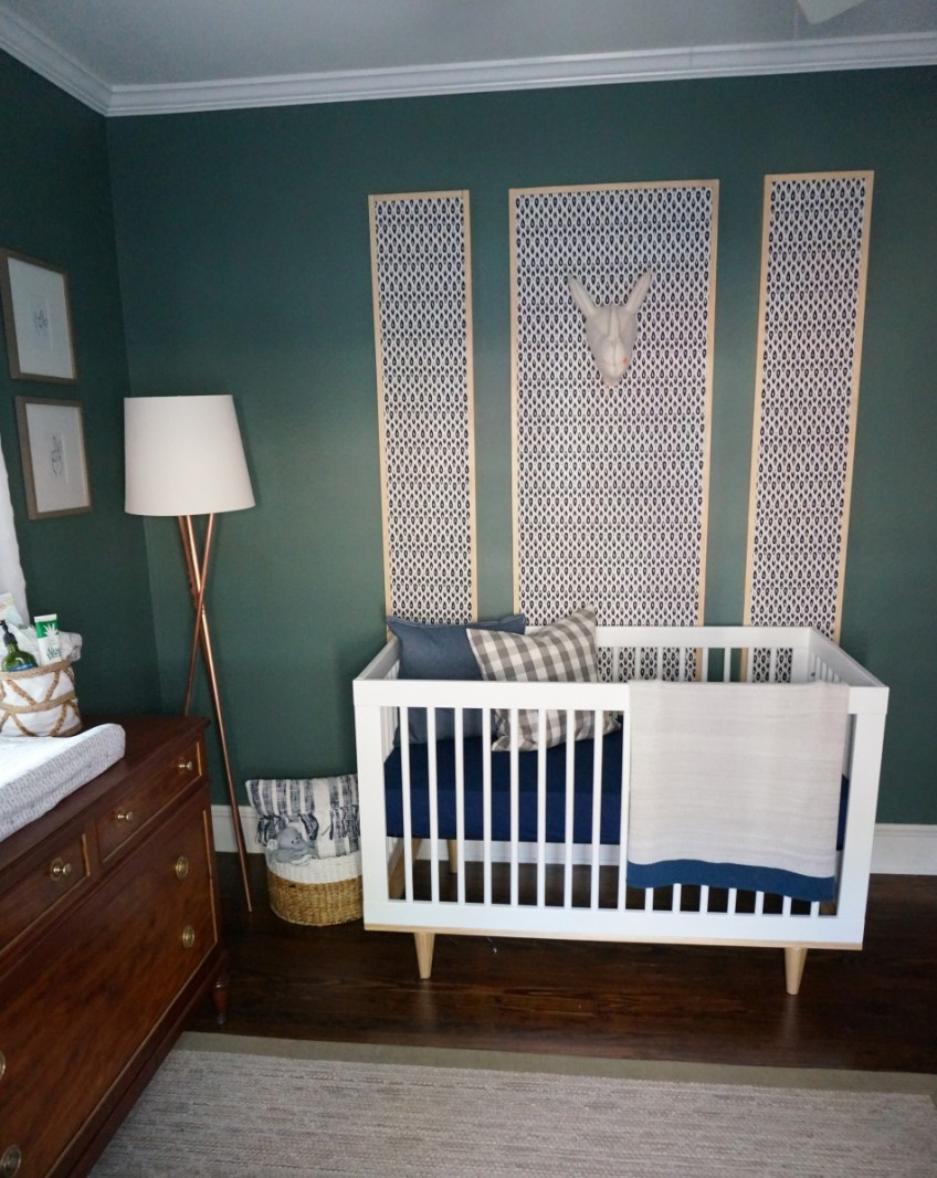 Baby Boy Nursery: HomeWork Design Co.
