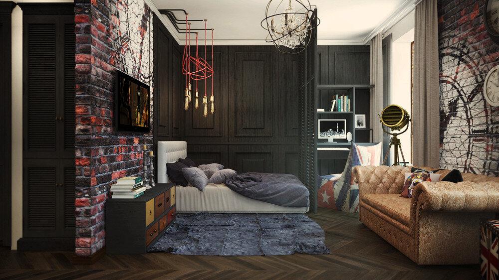 Narrow Studio Apartment Ideas
