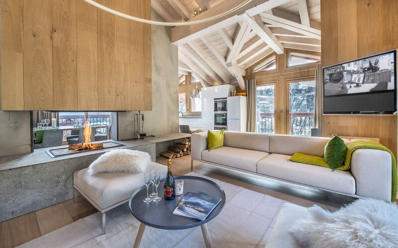 Luxury Chalet Located In A Private Hamlet A Modern