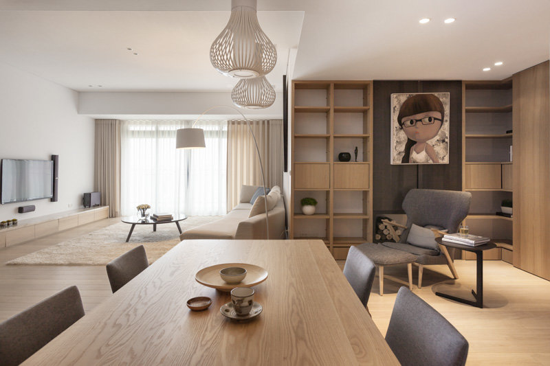 Pure Apartment Designed By Js Space Taiwan