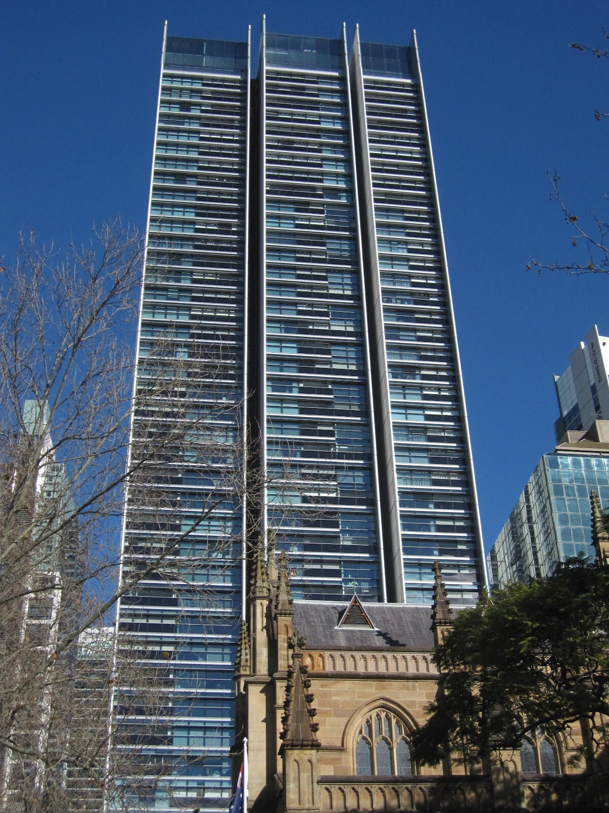 Sky Penthouse In Lumire Building Skyscraper Sydney