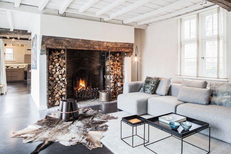 Home And Garden Fireplace Ideas