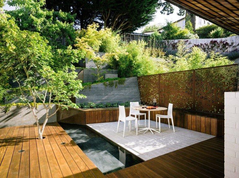 Zen Outdoor Living Space: Hilgard Garden on Garden And Outdoor Living id=13104