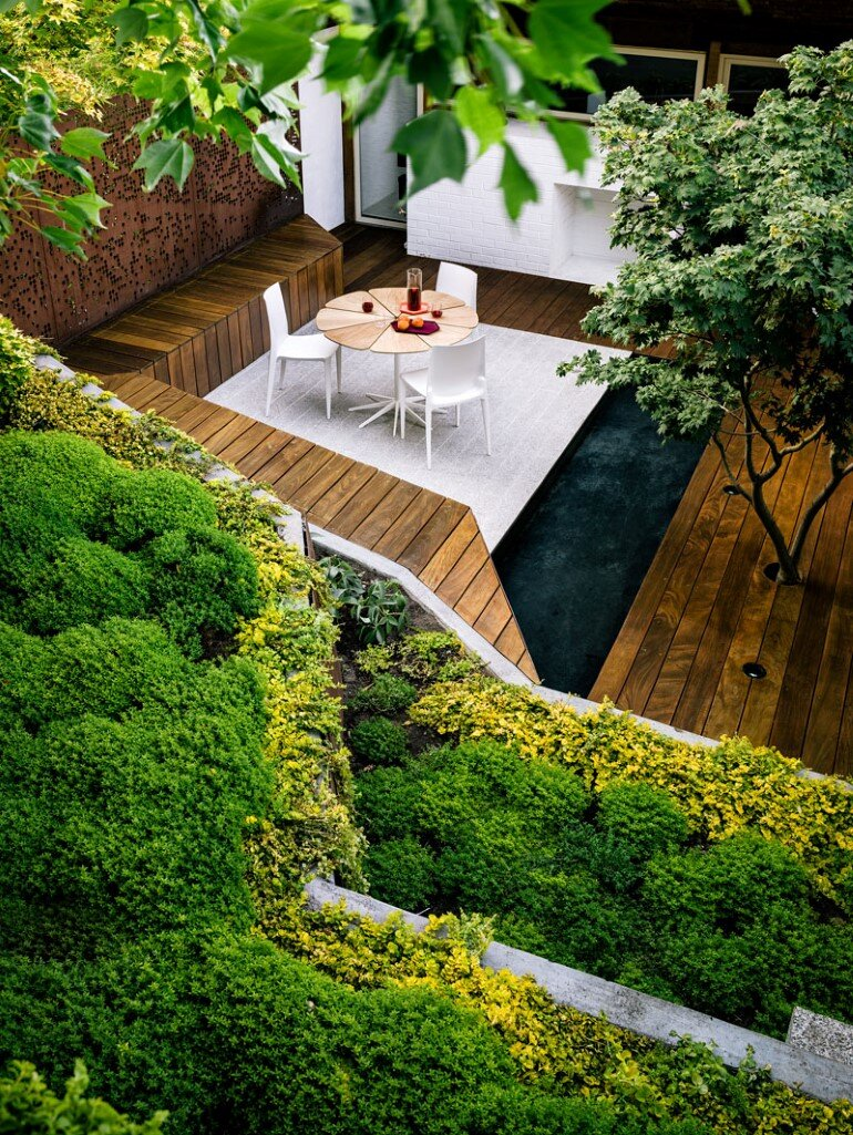 Zen Outdoor Living Space: Hilgard Garden on Garden Living Space id=99664