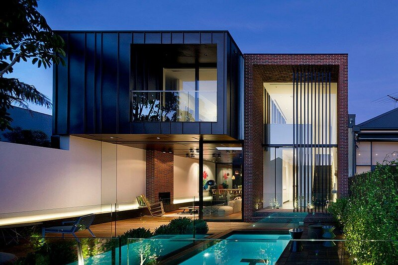 Abstract House By Matt Gibson Architecture Design