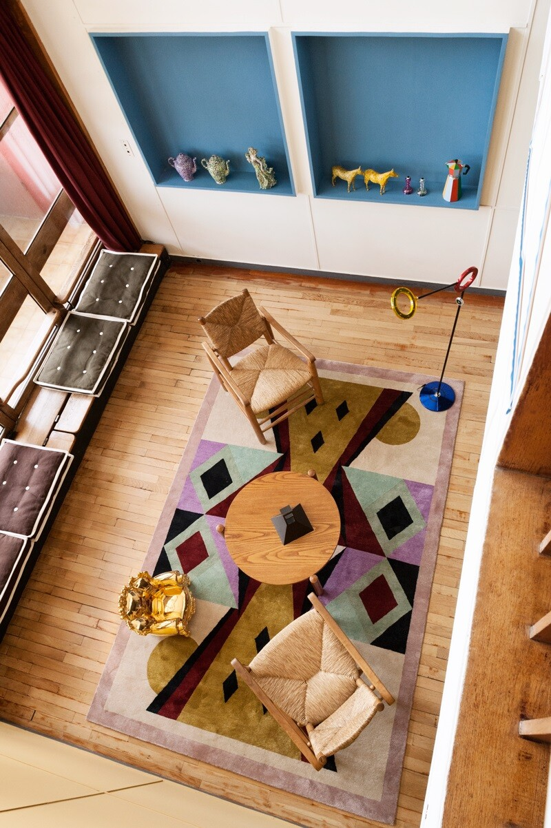 Le Corbusier Apartment 50 At The Unit DHabitation In Marseille