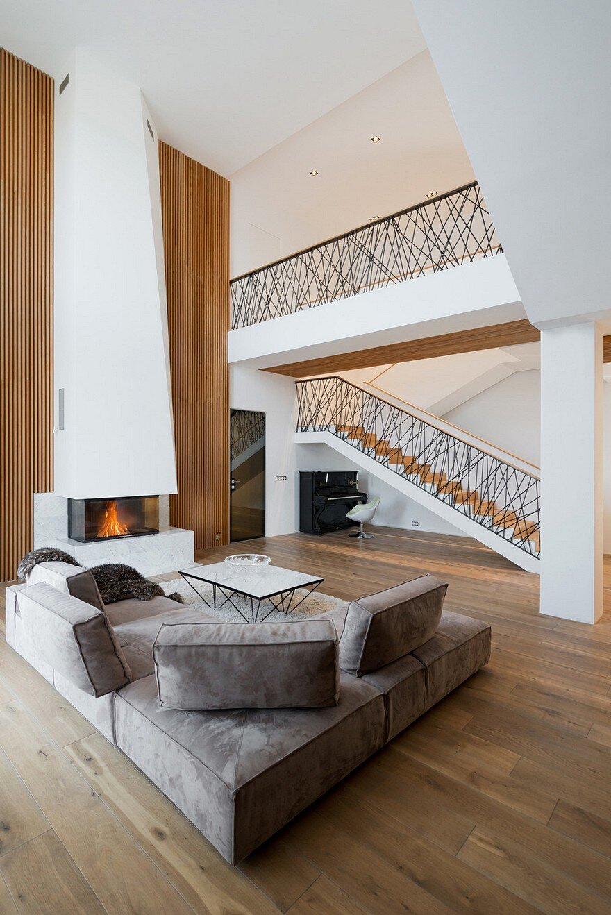 A Modern Country Home Featuring Minimalist Geometry and ...