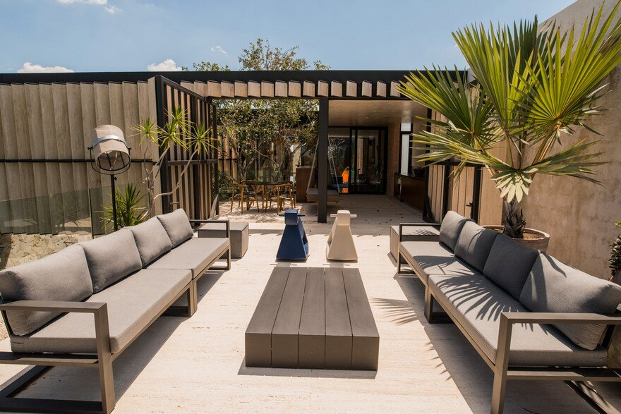 Modern Mexican House Evoking The Specificity Of The