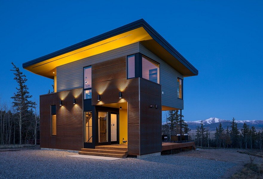 Stanley Ridge Shed Colorado Weekend Retreat By SALA