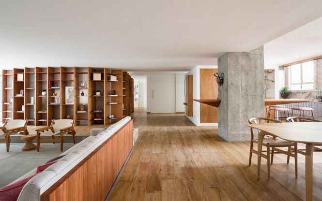 Strikingly Creative Apartment Remodel In São Paulo 5