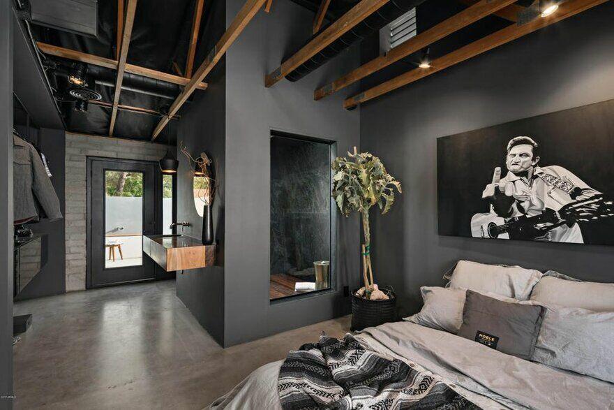 Modern Loft Style Home In Tempe Arizona Knob Modern Design