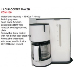 SUNBEAM VEGAS 12 CUP COFFEE MAKER