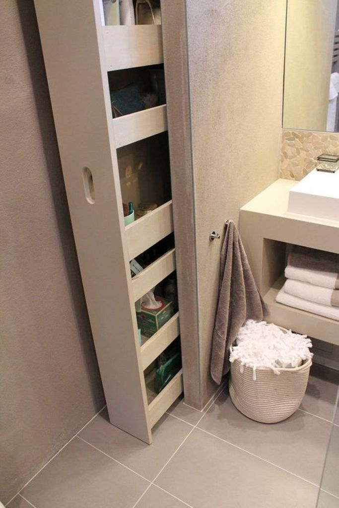 Cool hidden and pull out shelf storage ideas 2 (source pinterest.com)