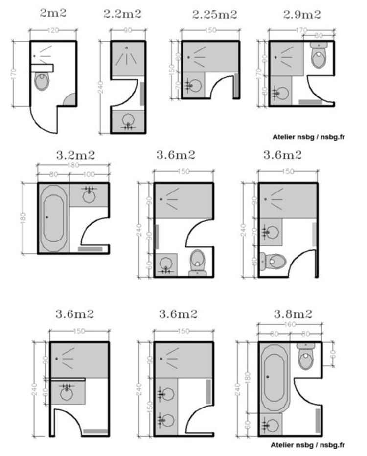 Bathroom Floor Plans For Small Spaces