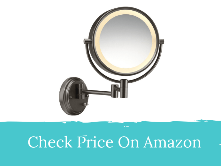 Conair Wall Mount Lighted Makeup Mirror