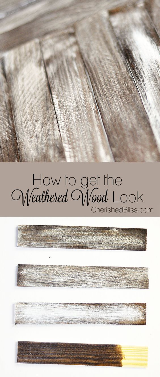 15 DIY Ideas To Distress Wood For Old Look 2017