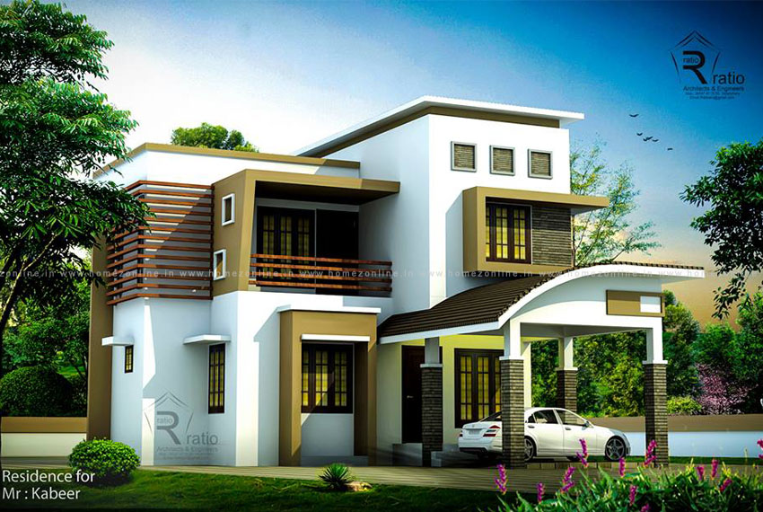 Contemporary house architecture with amazing exteriors ... on Amazing Modern Houses  id=41223