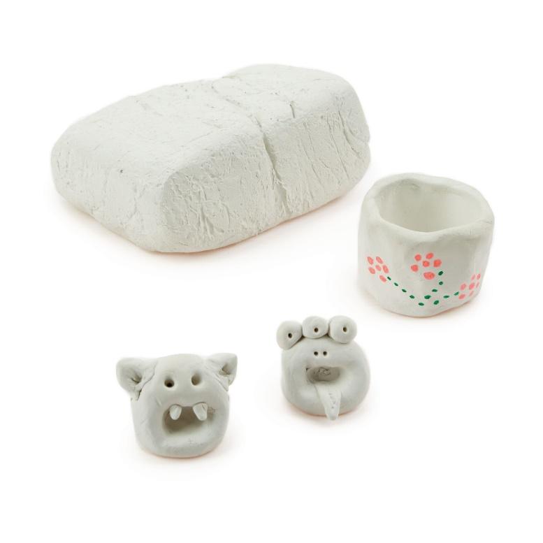 Air Drying Clay 1kg White - G1554987 | GLS Educational Supplies