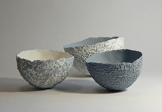 Ciotola in paper clay di porcellana, ciotola in porcellana bianca e grigia, regalo di nozze, regalo pe… | Decorative bowls, Ceramic ornaments, Contemporary ceramics