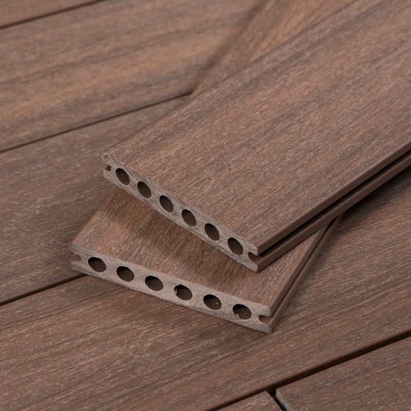 Dark Brown Deck - Denali TruOrganics Composite Decking - Cali Bamboo