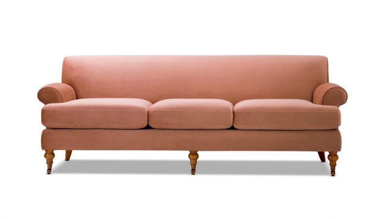 "Alana 88"" Lawson Rolled Arms Sofa - Jennifer Taylor Home"